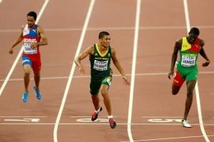 IAAF Mens 400m final